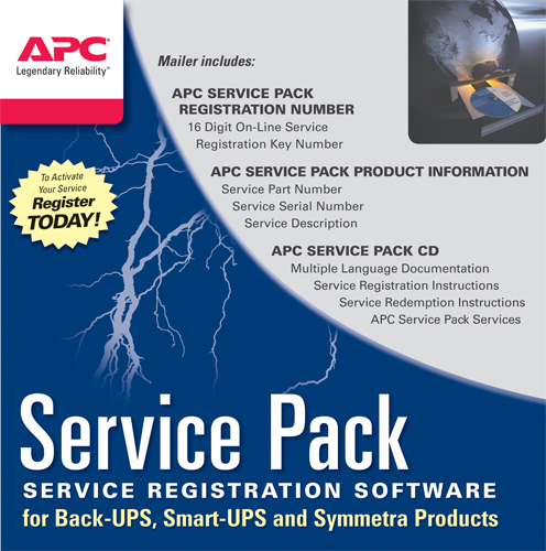 Service Pack 1 Year Warranty Extension WBEXTWAR1YR-SP-01